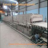 Couverture résistante au feu de fibre en céramique pour les chaudières industrielles