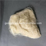 fibra del sisal del cortocircuito de los 3-20cm/fibra del cáñamo para el papel/la toalla/el edificio de la colada