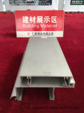 Perfil de alumínio revestido ou anodizado do pó da alta qualidade 6063 para a parede de cortina