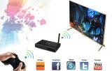 caixa esperta Android da tevê Wi-Fi de 4D Google IPTV com núcleo do quadrilátero