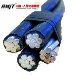 0.6/1kv изолированный PVC/XLPE алюминиевый кабель ABC провода 4X50 mm2