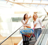 Escalera móvil segura ahorro de energía de la alameda de compras
