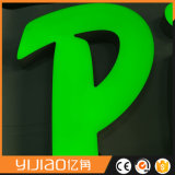 O logotipo do Signage do diodo emissor de luz aceita personalizado