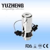 Válvula da amostra do aço inoxidável de Yuzheng com tomada da soldadura