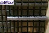 Barras brancas do desgaste de Chocky do ferro do acessório da cubeta de Domite