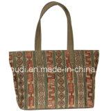 新しい顧客用方法女性買物をする浜の戦闘状況表示板のハンドバッグ