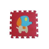 Couvre-tapis animaux de casse-tête d'étage de mousse de Kamiqi EVA 100% pour des bébés