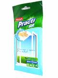 Ménage mou nettoyant le tissu humide d'utilisation quotidienne humide de chiffons
