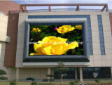 Pared video a todo color al aire libre P10 que hace publicidad de la visualización grande del LED