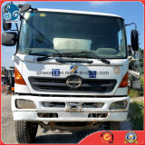 필리핀에 청결한 Mixing Drum Used Hino500/Agitating-Lorry Cement Concrete Mixer Truck (8CBM/ZF-Mixer)
