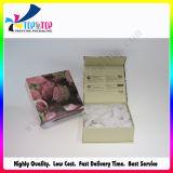 Skincare 크림 선물 상자를 인쇄하는 꽃