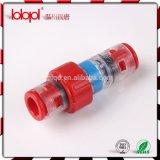 Os conetores Lbk 14/10mm do bloco do gás/água subterrâneo para direto instalam com 2*Clips