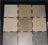 Mosaico de cerámica de mármol blanco del nuevo diseño