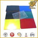 Feuille en plastique de PVC colorée par feuille claire de PVC de plastique de Vailable