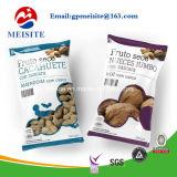Spitzenreißverschluss-Plastiktasche/runder unterer Plastikverpacken- der Lebensmittelbeutel