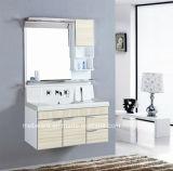 Governi di stanza da bagno d'angolo del PVC, unità bianca della stanza da bagno del PVC