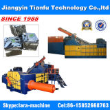 Turn out Hydraulic Baler para Aluminum Scrap