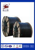 600/1000V 구리 또는 알루미늄 지휘자 PE/XLPE에 의하여 격리되는 PVC 칼집 지하 고압선