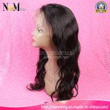130% Dichte-brasilianisches Jungfrau Remy Haar Glueless volle Spitze-Menschenhaar-Perücken