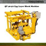 Qt40-3A bewegliche hohle Block-Kleber-Ei-Legenziegelstein-Maschine