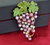 VAGULA Brooch виноградины перлы относящи к окружающей среде содружественный для повелительницы