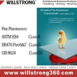 Willstrong 5mmの防火効力のあるアルミニウム複合材料のクラスB1
