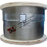 316 câble métallique d'acier inoxydable de 7X7 8mm