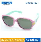 Matériau mou des lunettes de soleil des enfants de la bonne qualité Kqp161441