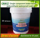 Matériau imperméable à l'eau de polyuréthane constitutif simple pour imperméabiliser à l'intérieur