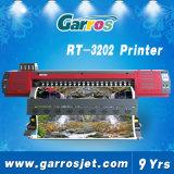 los 3.2m 4 impresora solvente de la bandera de la flexión de Garros 3D Digitaces de la impresora de Eco del color con la impresora principal Dx5 para la venta