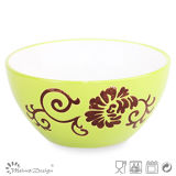 15.4cm Flower Design Ceramic Cereal Bowl