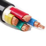 Cable de transmisión aislado PVC, alambre eléctrico de la envoltura del PVC, 0.6/1kv