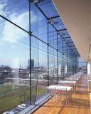 유리제 박판으로 만들어진 유리 외벽 유리/건물 정면