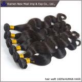 Tessuto estratto doppio dei capelli umani di estensione dei capelli umani dell'onda del corpo