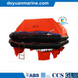 SOLAS y Pescante-Launched Inflatable Liferaft de la ISO Standard 25 Person con CCS Certificate