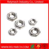 Noix mince Hex M3-M24 d'acier inoxydable