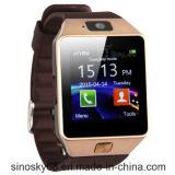 Bluetoothのスマートな腕時計の手首の電話同期信号アンドロイドかISO Dz09