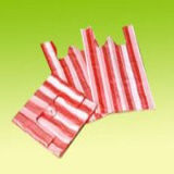 Kleurrijke Gestreepte HDPE Plastic Zakken