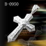 [هوتسلّينغ] 925 فضة مجوهرات صليب مدلّاة