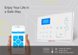 Wireless LCD GSM SMS Casa Casa Sistema de alarme de segurança contra roubo
