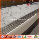Панель привлекательной 1220*2440mm каменной мраморный отделки Ideabond алюминиевая составная (ACP)