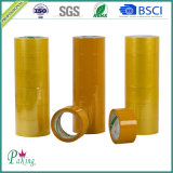 BOPP Film Packing Tape Roll mit Brown/Yellow Acrylic Adhesive