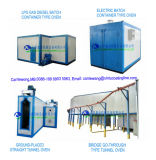 최신 판매 Electrotatic 분말 코팅 페인트 전기 치료 오븐