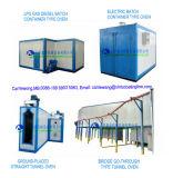 Forno de cura elétrico de venda quente da pintura do revestimento do pó de Electrotatic