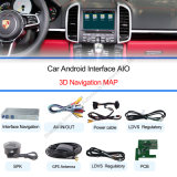 ポルシェMacan、カイエンヌ、Panameraとの1080P Android Navigation Box + Video Interface Compatible