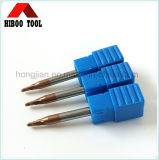 2flutes Ball Nose Carbide Tools avec Tisin Coating
