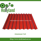 De met een laag bedekte & In reliëf gemaakte Rol van het Aluminium (HLA1012)