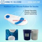 Le caoutchouc de silicone de catégorie médicale pour la fabrication de semelle intérieure