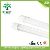diodo emissor de luz Tube Light de 0.6m 600mm 2feet 9W 10W Transparent Housing T8