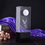 Самый новый трофей кристалла подарка K9 сувенира